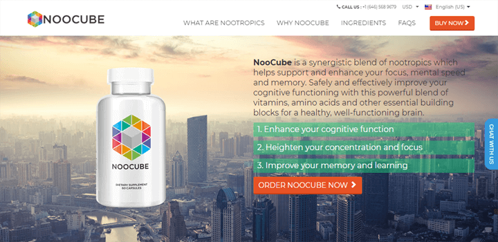 Noocube Official Website