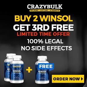 CrazyBulk Winsol Offer
