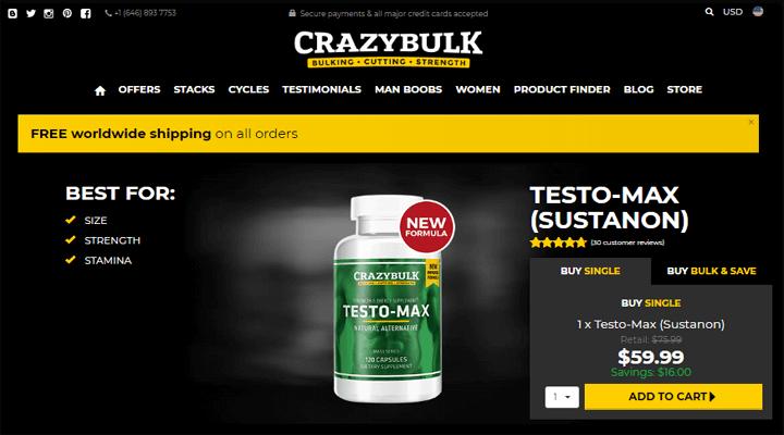 Testo-Max Official Website